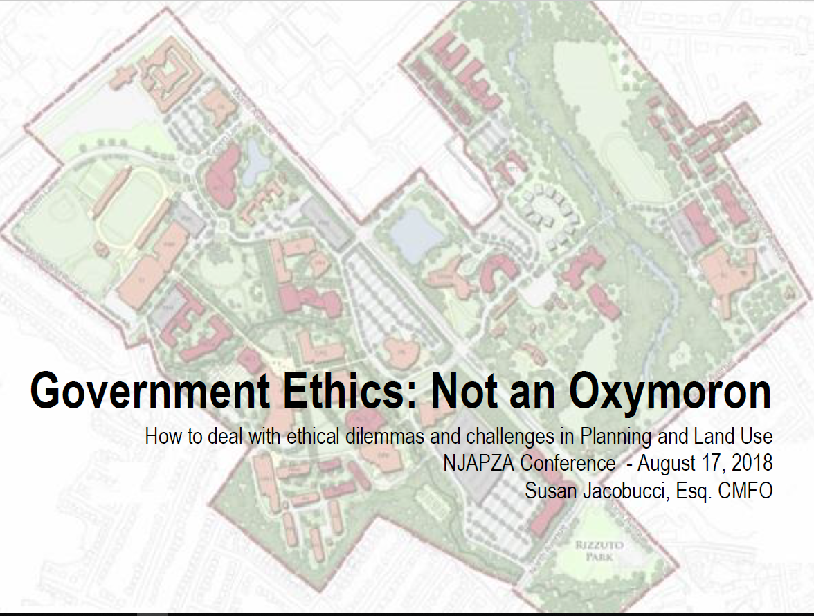 Summer Social: How to deal with Ethical Dilemmas and challenges in Planning & Land Use